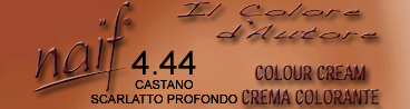 NAIF N°4.44 CASTANO SCARLATTO PROFONDO