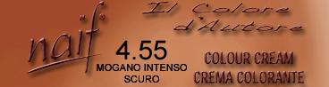 NAIF N°4.55 MOGANO INTENSO SCURO