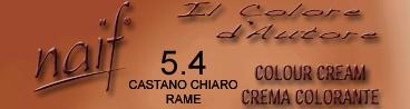 NAIF N°5.4 CASTANO CHIARO RAME