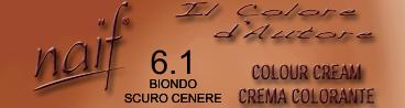 NAIF N°6.1 BIONDO SCURO CENERE