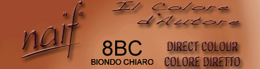 NAIF DIRECT COLOUR N°8BC BIONDO CHIARO