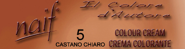 NAIF N°5 CASTANO CHIARO